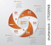 design clean number banners... | Shutterstock .eps vector #175200968