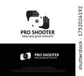 pro shutter hand and lens... | Shutterstock .eps vector #1752026192