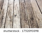 Wooden Deck For Background In...