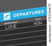 destination   love  unusual... | Shutterstock .eps vector #1752104675