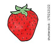 cartoon strawberry | Shutterstock . vector #175212122