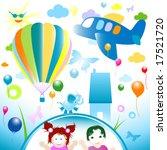 happy world  abstract design... | Shutterstock .eps vector #17521720