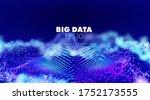 bigdata illustration on...   Shutterstock .eps vector #1752173555