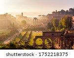 Roman Forum. Image Of Roman...