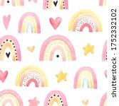 watercolor seamless pattern...   Shutterstock . vector #1752332102