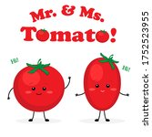 Mister And Missis Tomato Cute...