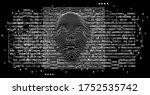 artificial intelligence concept....   Shutterstock .eps vector #1752535742