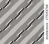 abstract broken striped... | Shutterstock . vector #175253768