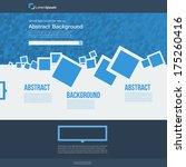 vector  website. abstract blue...