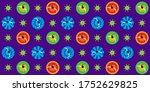 india navratri garba dance top...   Shutterstock .eps vector #1752629825