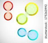 metaball colorful round diagram ...