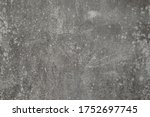 grunge dirty grey cracked... | Shutterstock . vector #1752697745