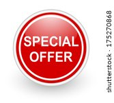 special offer icon | Shutterstock . vector #175270868