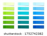 realistic sticky notes... | Shutterstock .eps vector #1752742382