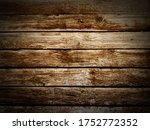 old brown wooden texture rustic ...   Shutterstock . vector #1752772352