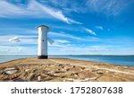 Panoramic Image Of Seawall And...
