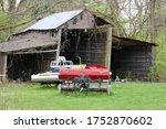 Abandoned Rotting Utility Shed...