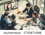 Video Call Group Business...