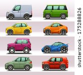 car icon set 4 | Shutterstock .eps vector #175288826