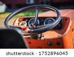 Steering Wheel And Dashboard O...