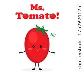Missis Tomato Cute Characters...