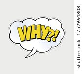 Why  Comic Style Phrase With...