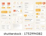 user interface elements for... | Shutterstock .eps vector #1752994382