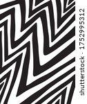 vector pattern. abstract... | Shutterstock .eps vector #1752995312