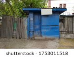 Abandoned Blue Shopping Stall...