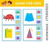 educational worksheet for...   Shutterstock .eps vector #1753025015