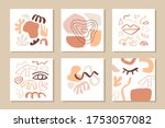modern abstract cover templates ... | Shutterstock .eps vector #1753057082