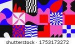 deconstructed postmodern...   Shutterstock .eps vector #1753173272