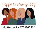 happy international friendship... | Shutterstock .eps vector #1753248512
