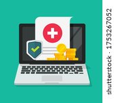 medical health care insurance... | Shutterstock .eps vector #1753267052