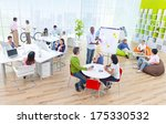 group of business people in the ... | Shutterstock . vector #175330532