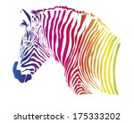 color head illustration of... | Shutterstock .eps vector #175333202