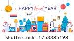 vector illustration of set of... | Shutterstock .eps vector #1753385198