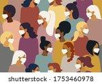 coronavirus in the world  china.... | Shutterstock .eps vector #1753460978