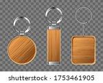 Wooden Keychains  Keyring...