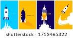 vector set of business... | Shutterstock .eps vector #1753465322