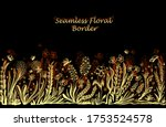 background with seamless border ... | Shutterstock .eps vector #1753524578