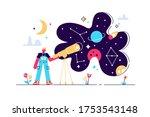 astronomy vector illustration....   Shutterstock .eps vector #1753543148