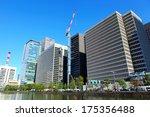 tokyo commercial district  | Shutterstock . vector #175356488
