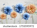 3d Wallpaper Flowers And...