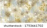 Art Floral Texture Background...