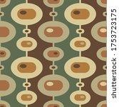 mid century modern art vector... | Shutterstock .eps vector #1753723175