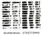 flat paint brush thin straight... | Shutterstock .eps vector #1753773995
