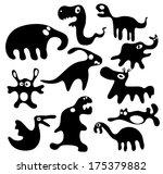 monster.cartoon.vector | Shutterstock .eps vector #175379882