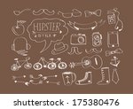 hipster style  elements and...   Shutterstock .eps vector #175380476