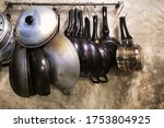 Cookware Sets Hanging On The...